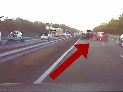 Watch a #Tesla predict an accident and react before it even happens  #driverlesscars #IoT
