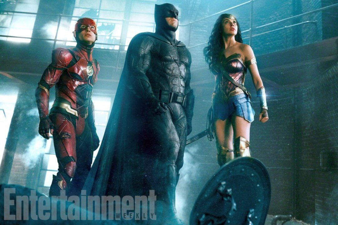 Flash, Batman And Wonder Woman Unite In New Justice League Photo