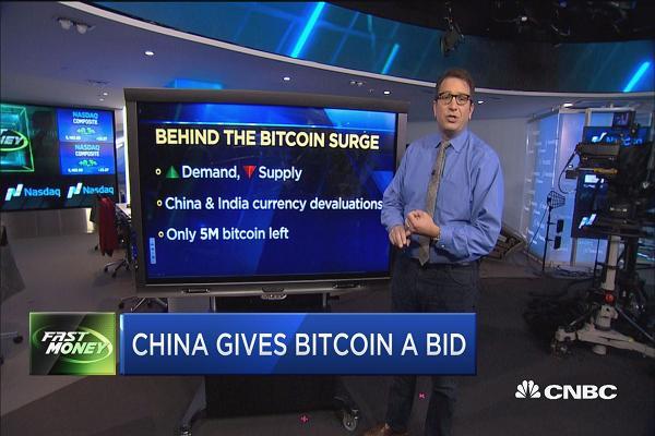China gives #bitcoin a bid