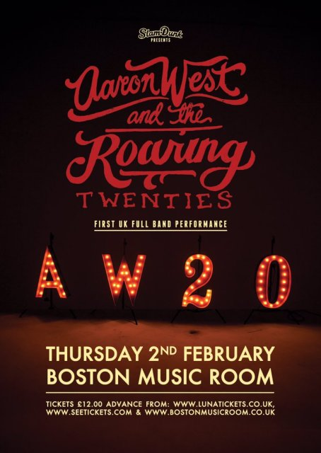 Image result for aaron west and the roaring twenties tufnell park