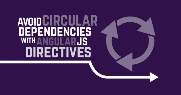 Avoid circular dependencies with #AngularJS Directives by @ythos
