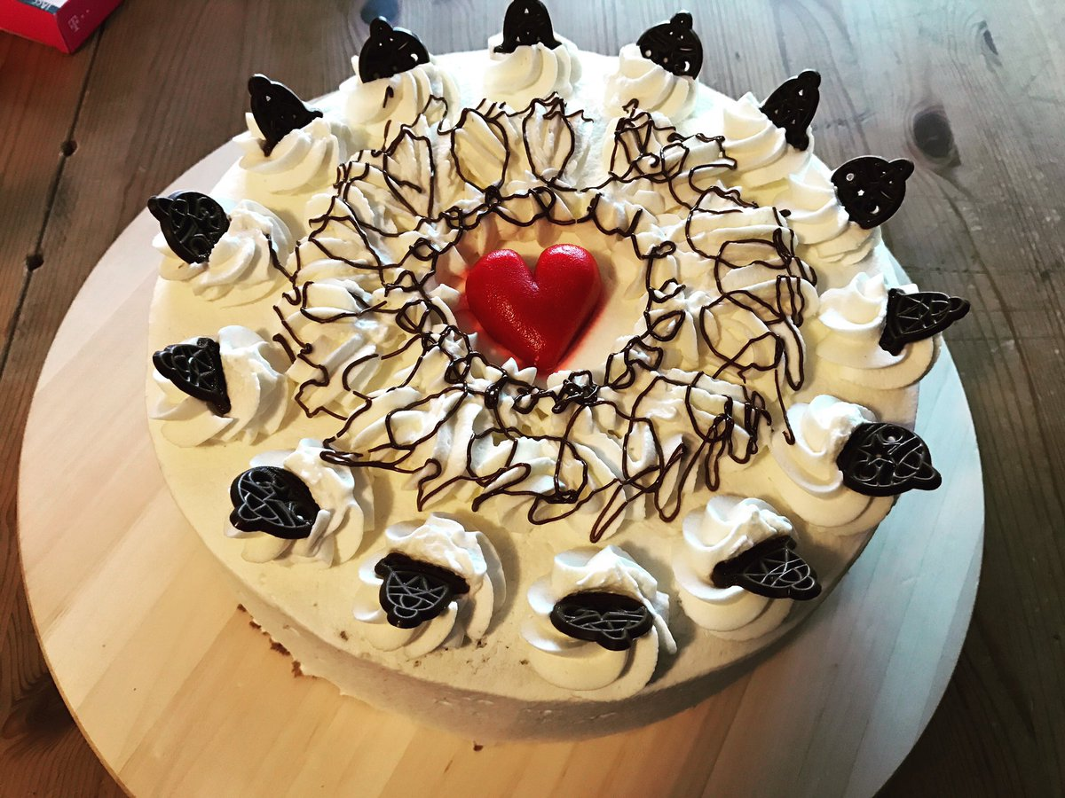 Glucklicher 31 Geburtstag Mit Schokoladencreme Kuchen Und