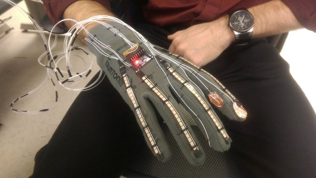 Futuristic Smart-Glove Can Translate Sign Language Into Text and Speech  #WearableTech #IoT