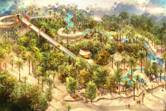 Raft ride at #Disney's Typhoon Lagoon gets concept art, new name