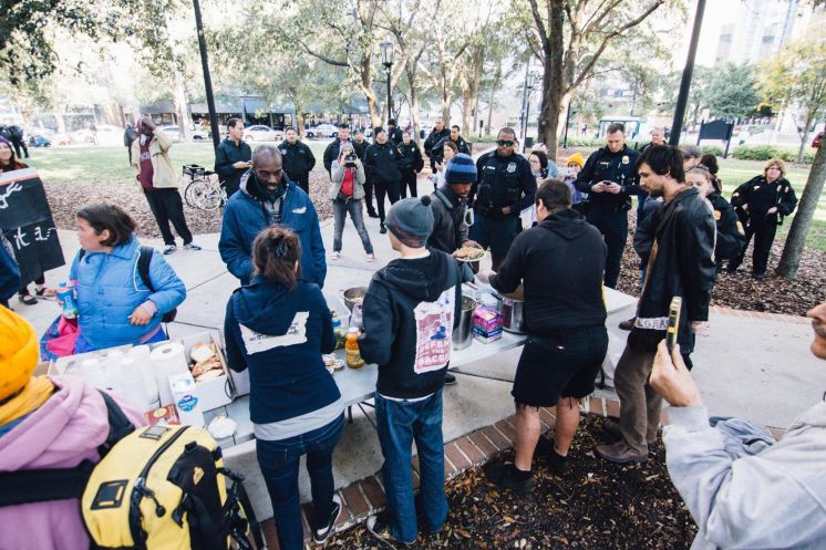 Tampa council looks to reduce barriers to Food Not Bombs homeless feedings