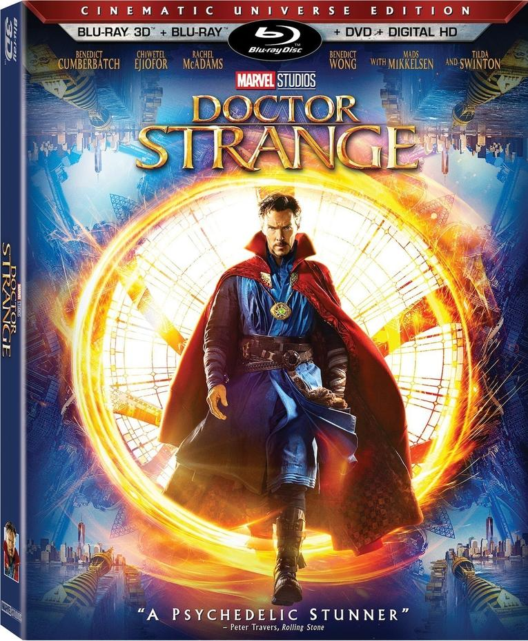 Doctor Strange Blu-Ray Details Revealed