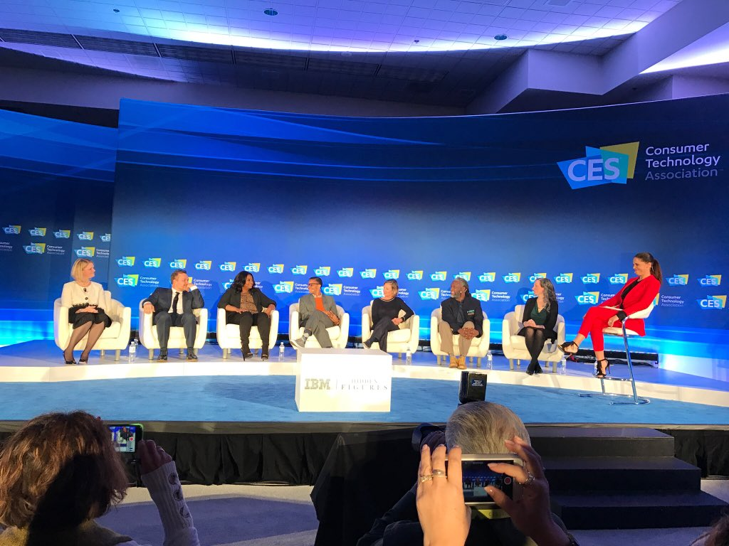 The importance of #STEM education, diversity and discovering #HiddenFigures #CES2017