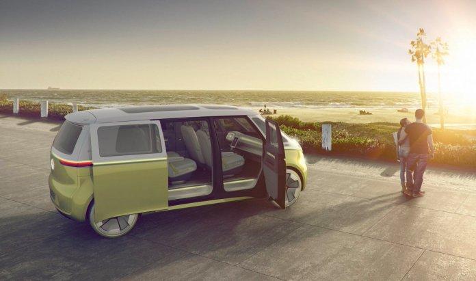 El nuevo Volkswagen ID Buzz.
