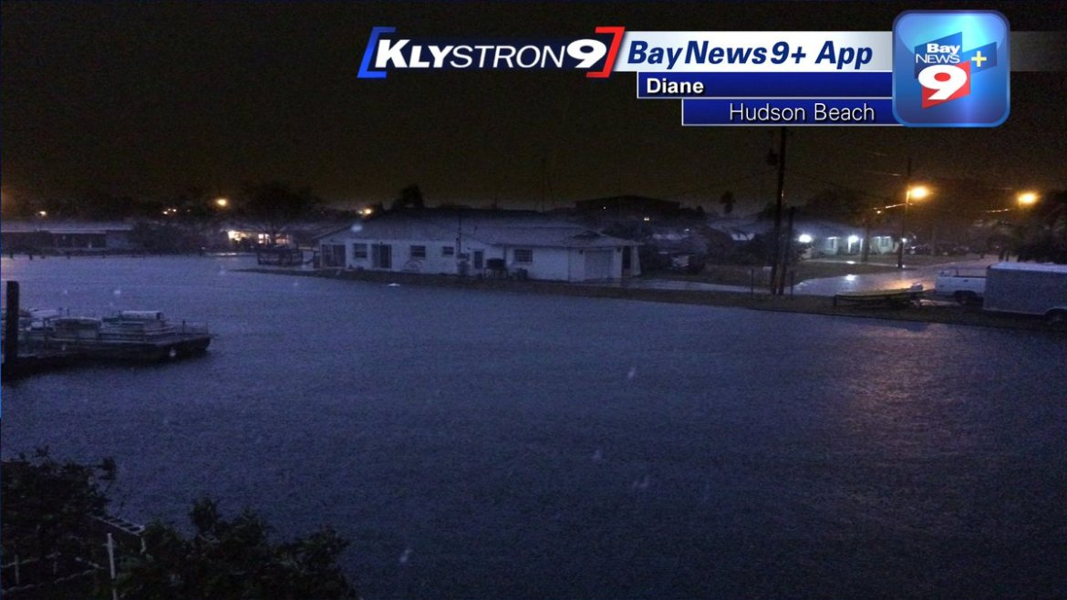 Juli Marquez: Coastal flooding and dangerous beach and boating conditions today. Tide times: