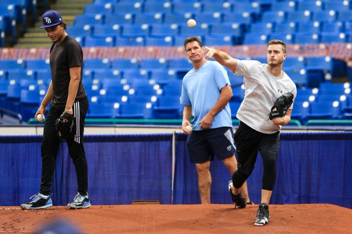 All Eyes photo gallery: Rays gather at open workout at Tropicana Field  #TB_Times #rays