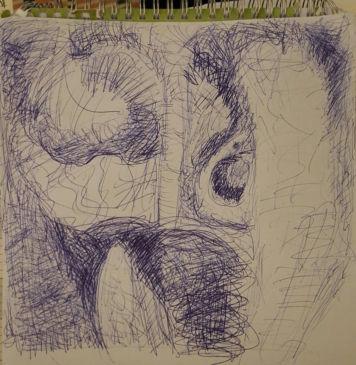 Henry Moore Elephant Skull Drawings