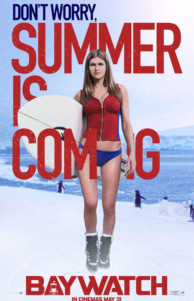 Baywatch Character Poster