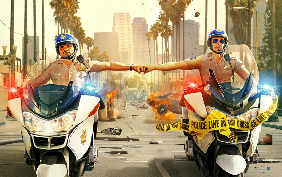 CHIPS Trailer Featuring Dax Shepard And Michael Peña