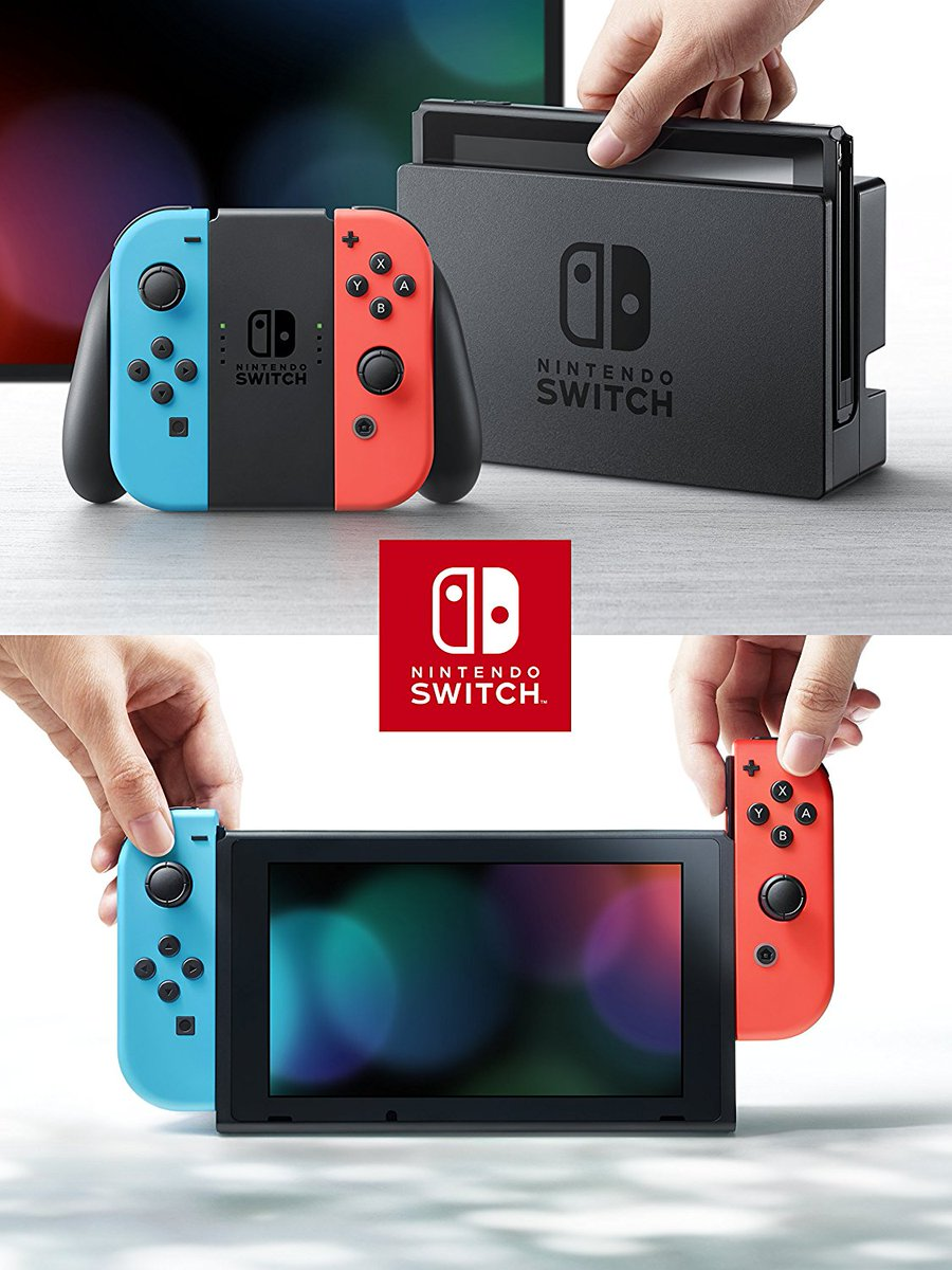 Nintendo Switch Neon Blue / Red