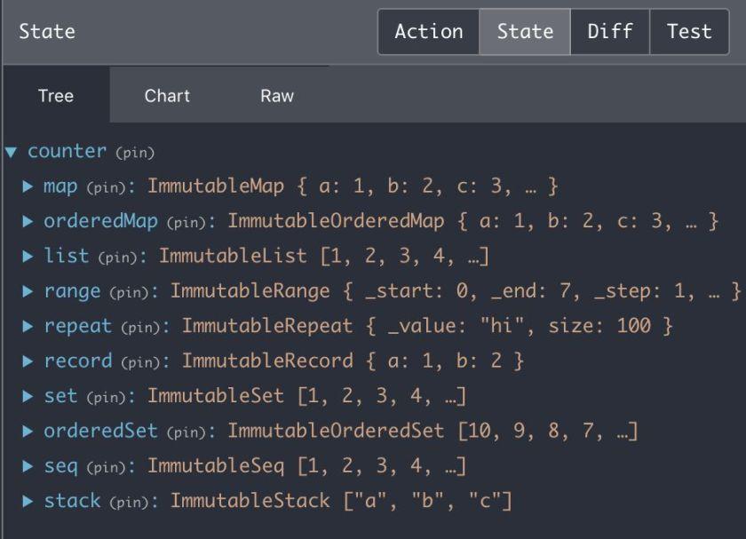 redux-devtools-extension supports Immutable.js out of box now   #redux #reactjs