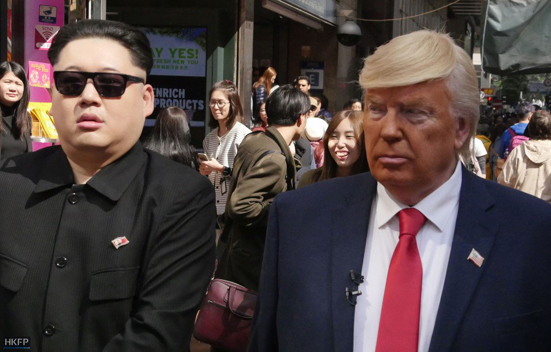 Tom Grundy On Twitter HKFP Lens Donald Trump And Kim