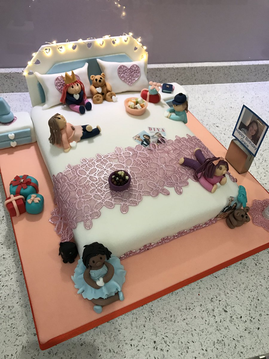 Lesley Annealexander On Twitter I Made A Birthday Cake For My Favourite 12 Year Old Girl Happy Birthday Grace Just Proves Trump Can T Spoil Everything Https T Co P7zurz0prk