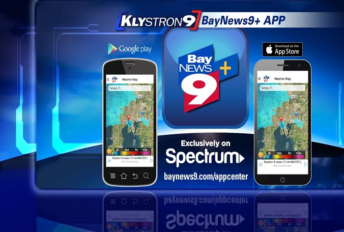 With strong weather expected today, get the Bay News 9+ app to be prepared.
