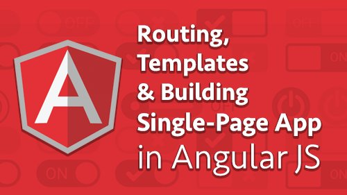 Learn #Routing in #AngularJS and how to open different views based on the application route