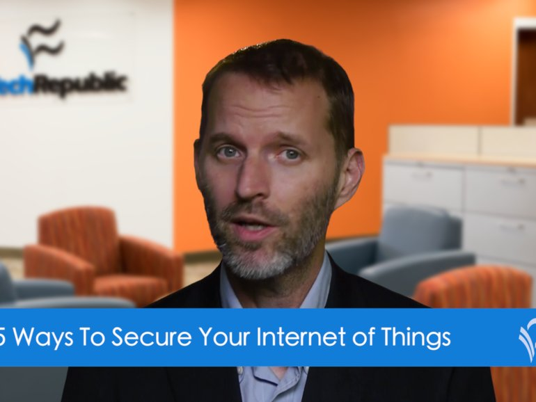 Video: Top 5 ways to secure your IoT  #iot