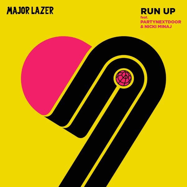 Major Lazer - Run Up Lyrics ft. PARTYNEXTDOOR & Nicki Minaj 3