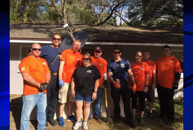 Citrus County Sheriff's Office, community give back to disabled veteran