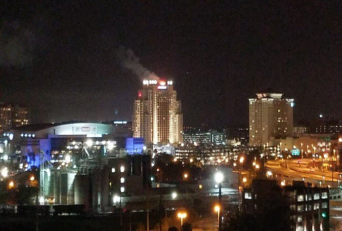 #BREAKING: 3-alarm fire at Tampa Marriott Waterside under control, @TampaFireRescue says.