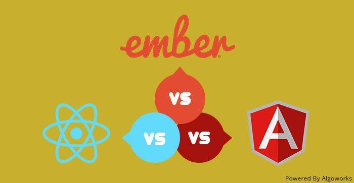 Choosing Right #JS #Development #Framework: #AngularJS vs #React vs #Ember  via @Algoworks