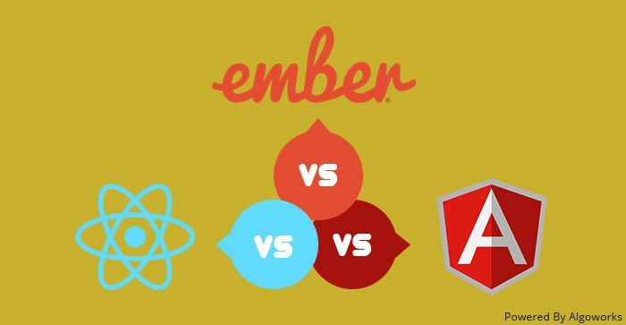 Choosing Right #JS #Development #Framework: #AngularJS vs #React vs #Ember  via @Algoworks