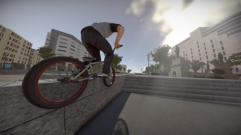 Field Of View: Barspin Studios are using #VR tools to develop non-VR title @BMXTheGame -