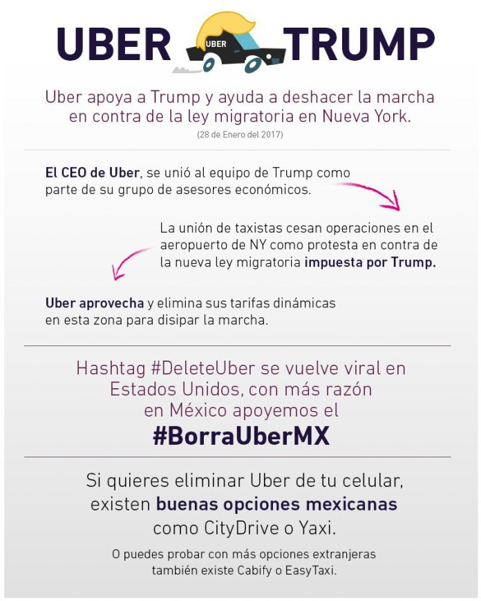 Alternativas de Uber en México