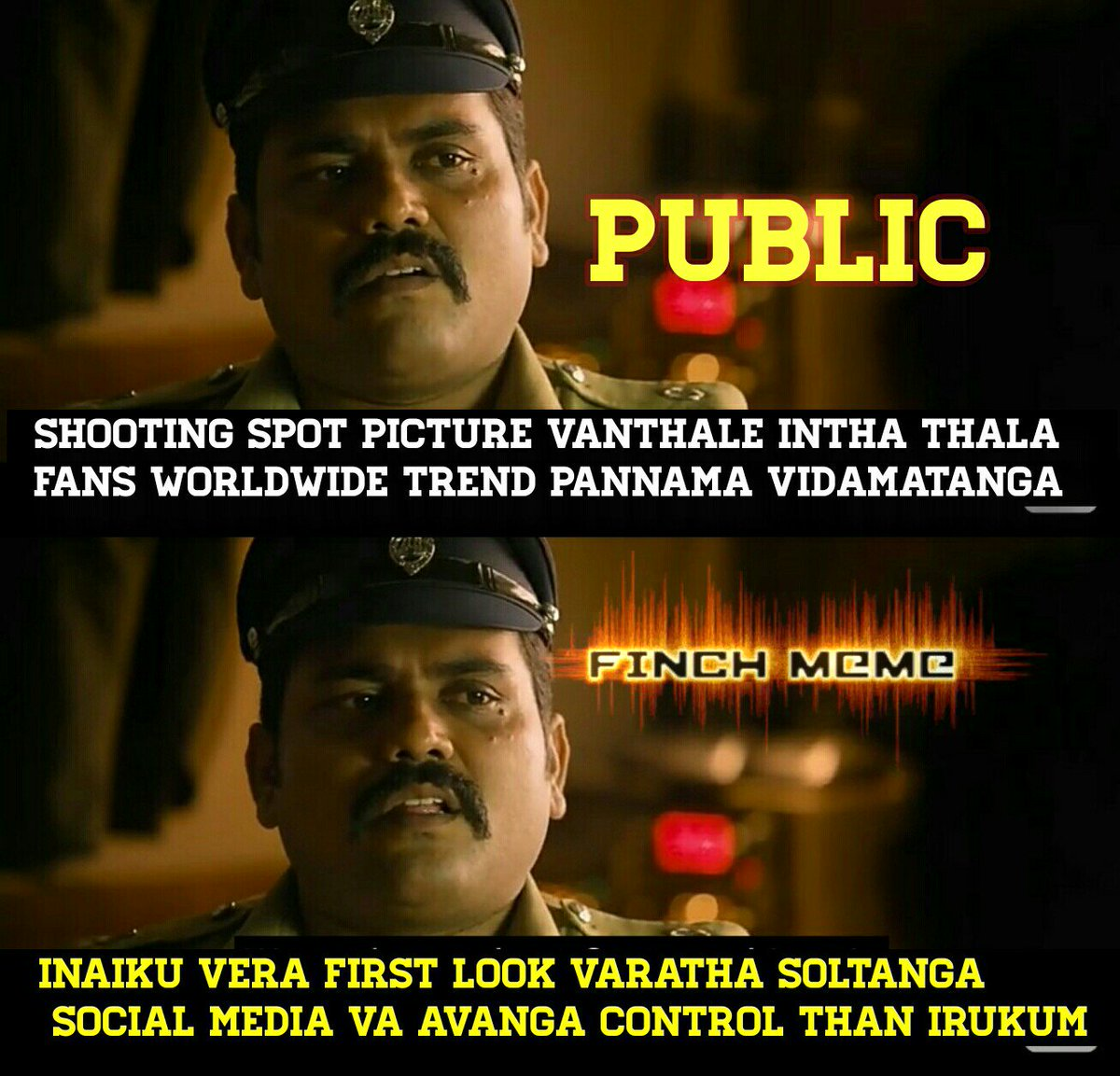 Ss Music On Twitter A Timely Meme Thala57 Title Fl Tonight