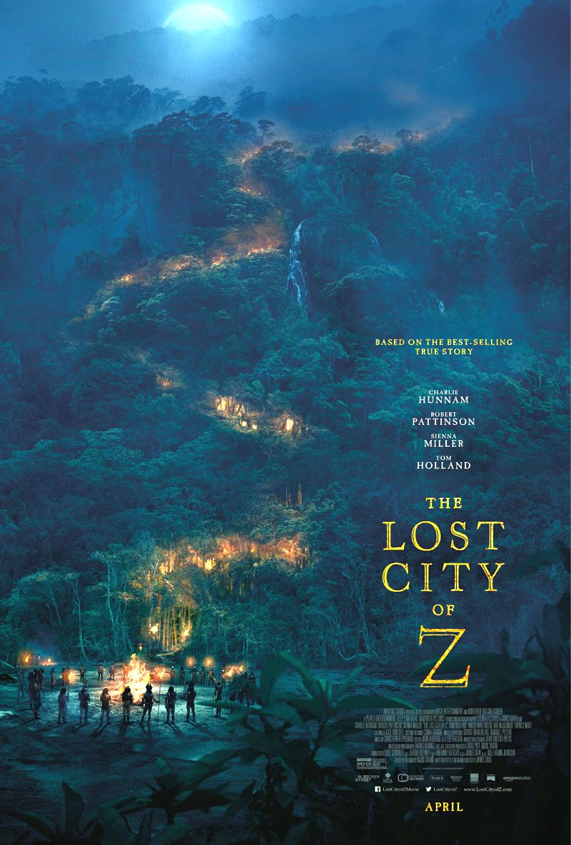 The Lost City of Z Trailer And Poster Revealed
