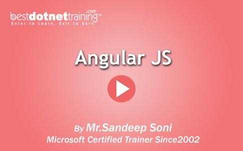 Angular JS Online Training
