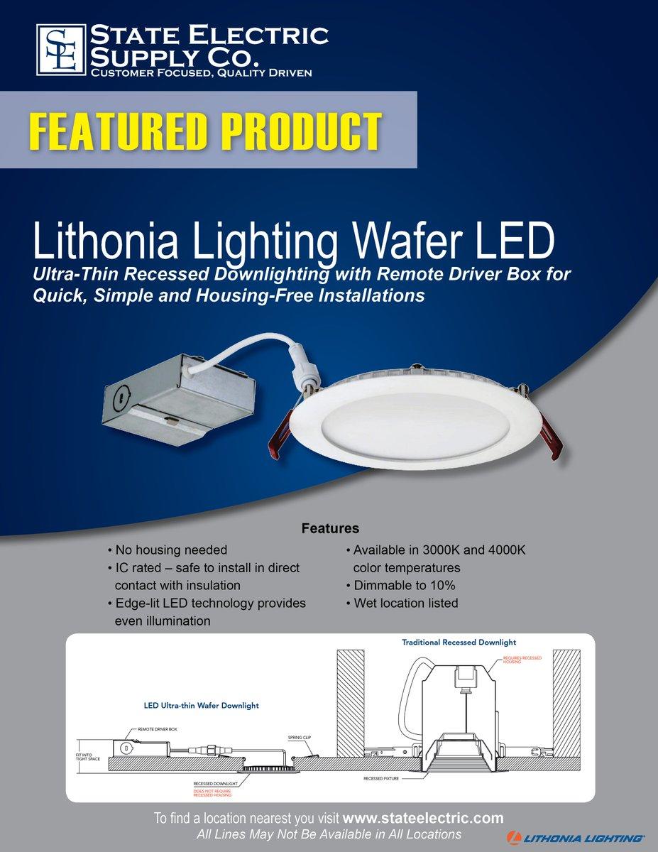 lithonia lighting led ultra thin wafer