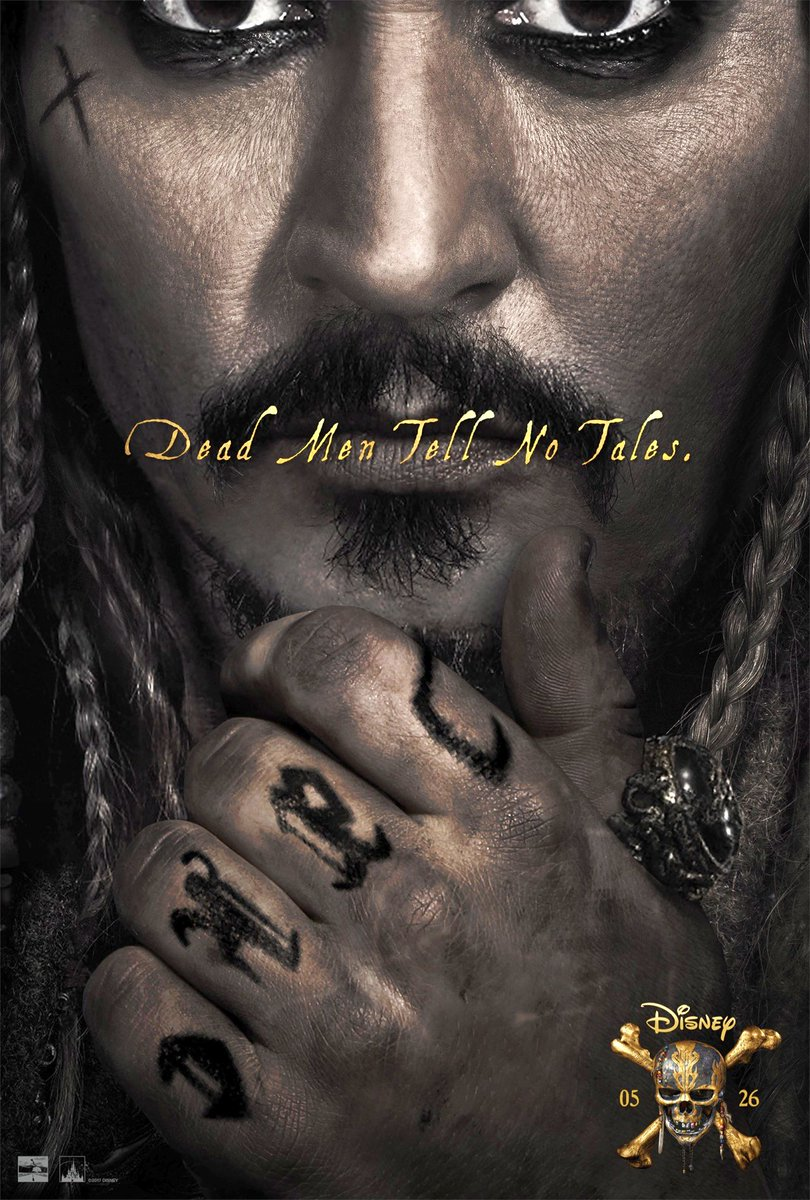 Pirates of the Caribbean: Dead Men Tell No Tales Poster Revealed