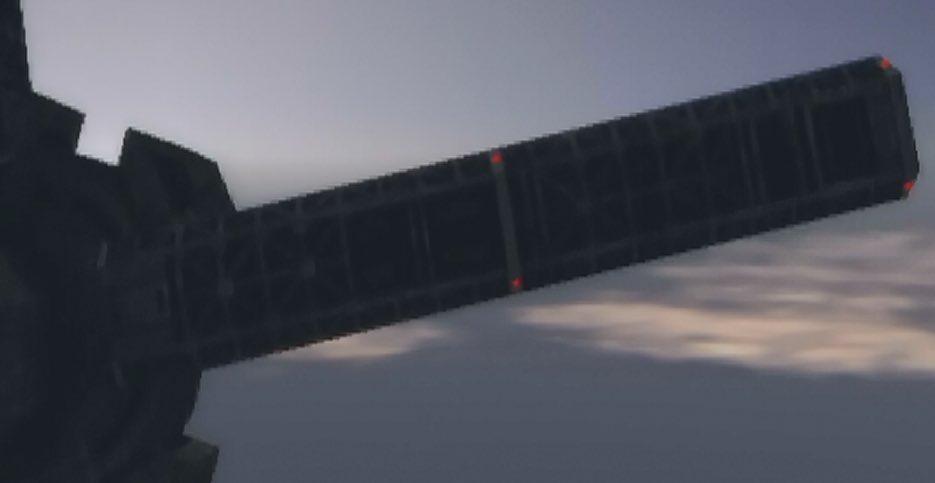 test ツイッターメディア - 【装填ユニット】SOLGの飾りその2。でっかい棒。4本あり耐久値はミサイル16発。こいつは的がデカイのでミサイル主体で仕留めるべき。https://t.co/AfyTx1C3ya