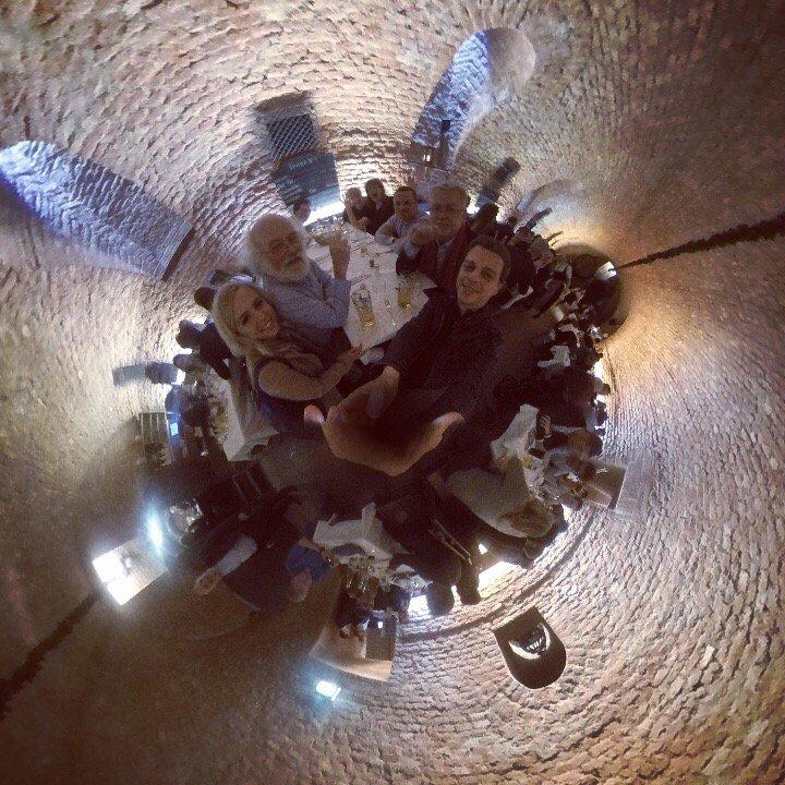 #Munich beer cellar with @johncohnvt @ToriMcClellan @dhinchcliffe @JimHarris #WatsonIoT #IoT