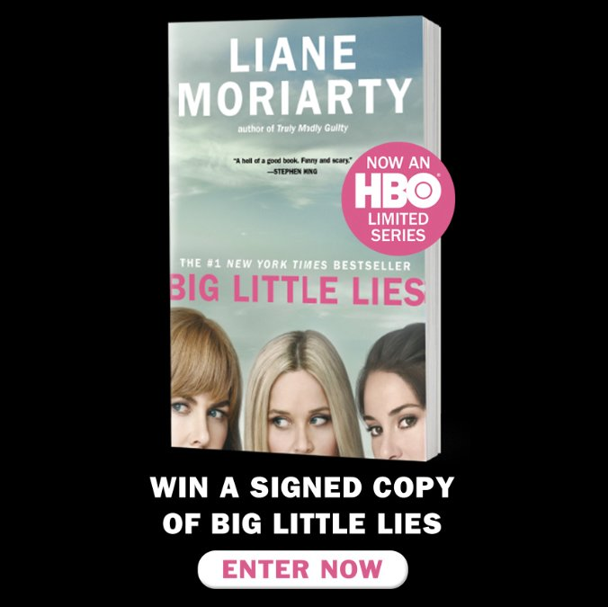 Enter to win a signed copy of Liane Moriarty's bestselling book...