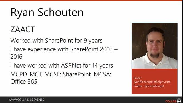 Here is a video that I presented on #SharePoint and #AngularJS as part of @COLLA365