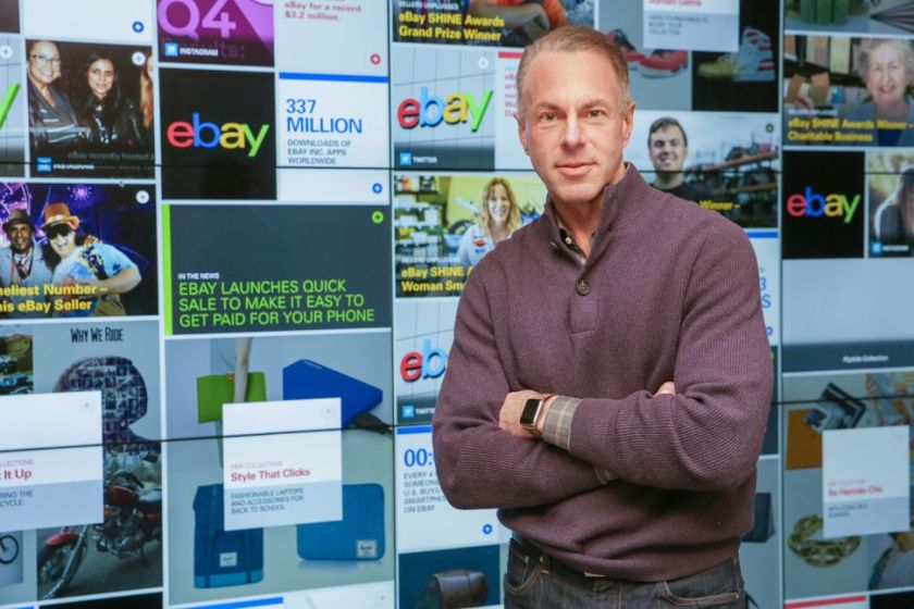 The CEO of #eBay says supersmart #AI will even help you sell that $5 pen