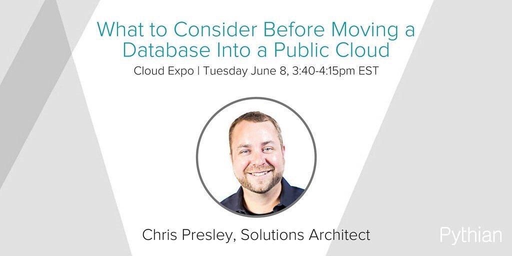 Chris Presley Slides  @Pythian #BigData #DataCenter #Storage #IoT #M2M #DigitalTransformation