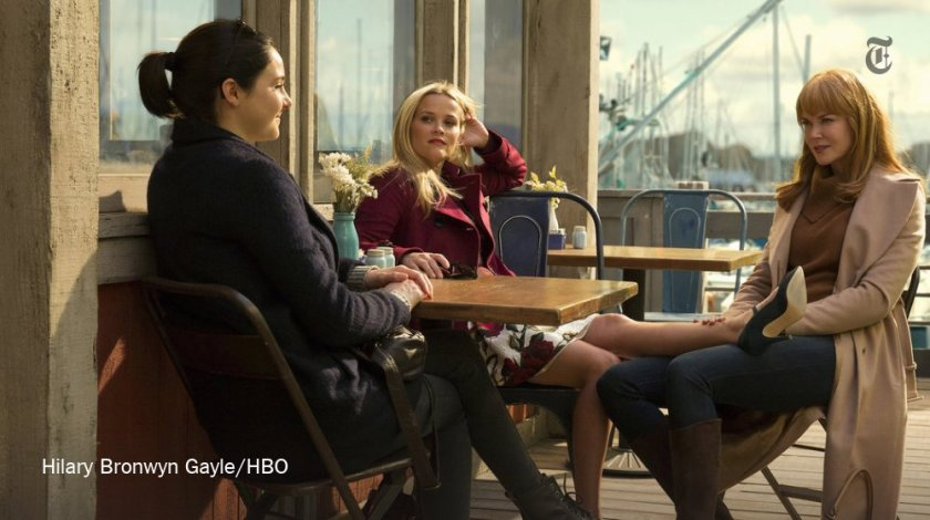"Visually, at least, ""Big Little Lies"" is the perfect television beach read..."