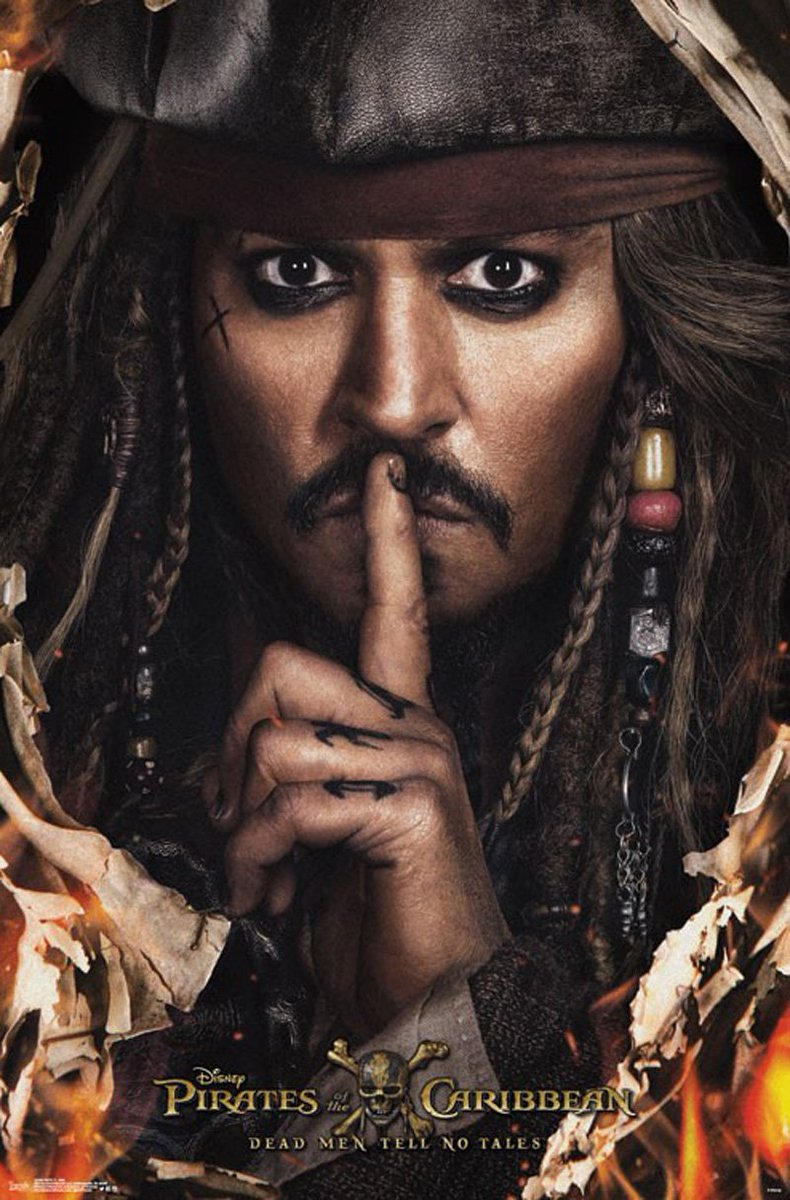 New Pirates of the Caribbean: Dead Men Tell No Tales Posters Unveiled