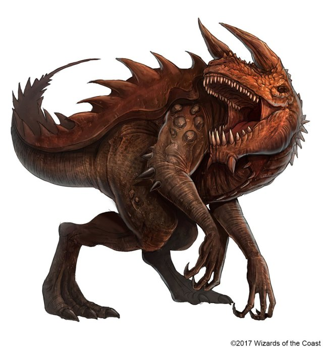 "Jetpack7 on Twitter: ""This Tarrasque was used for the D&D 'art bible' as a  guide for other artists. The 'official' version as a base look.… """