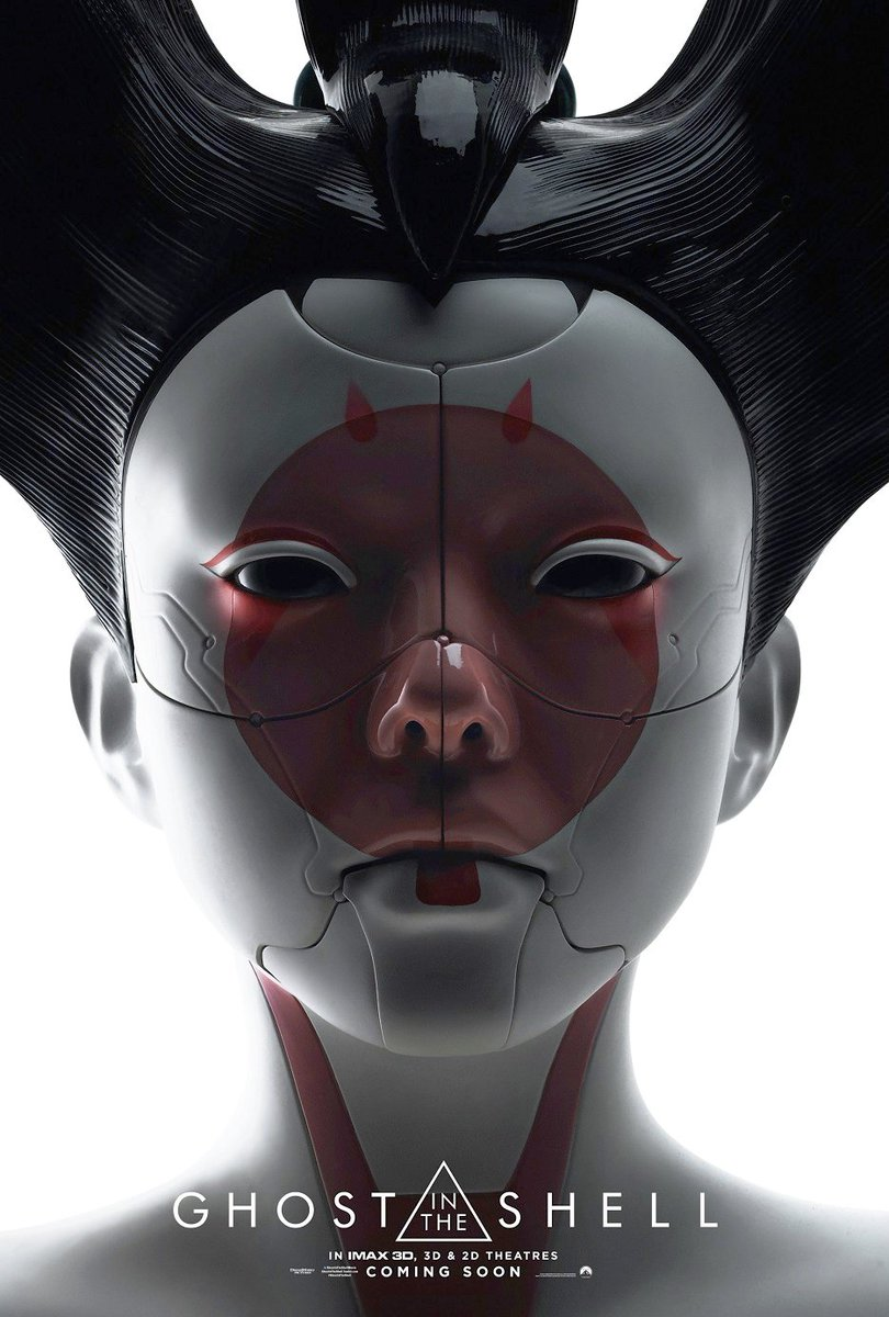 Ghost in the Shell IMAX Posters