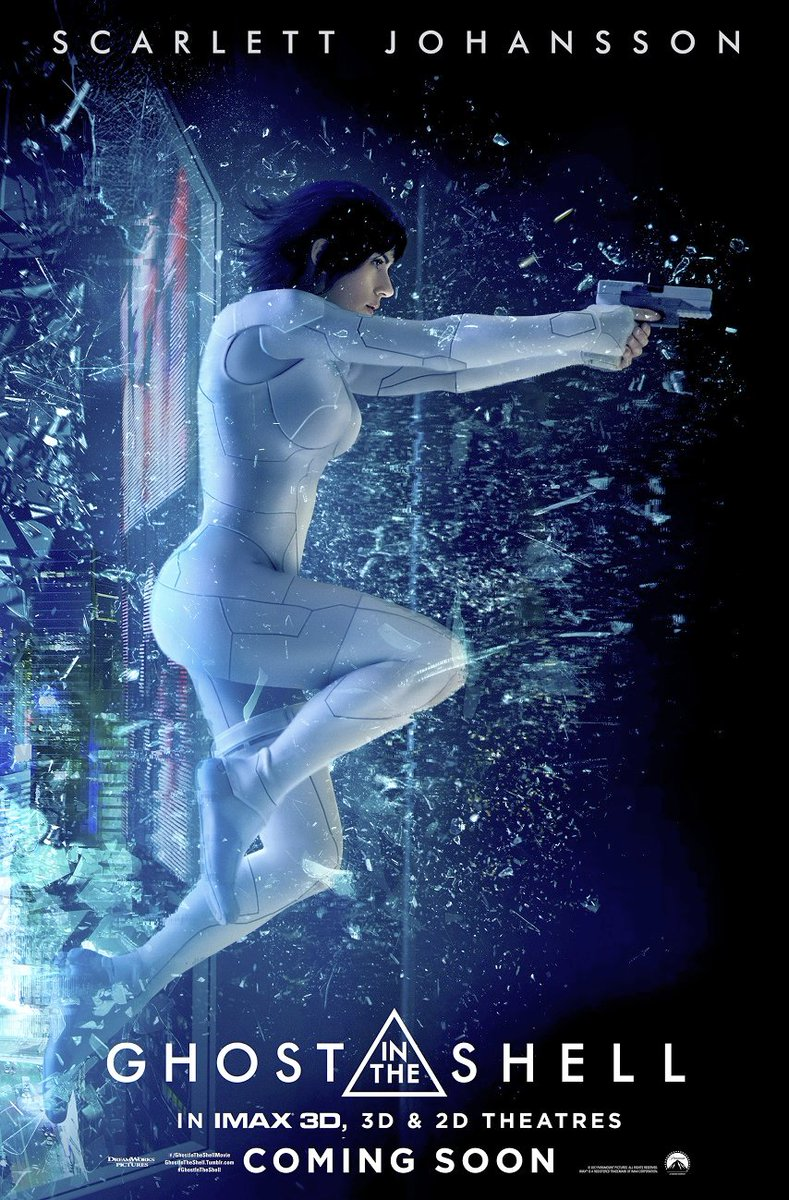 Ghost in the Shell IMAX Posters Revealed