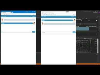 Demo Chat using  #SignalR & #AngularJS