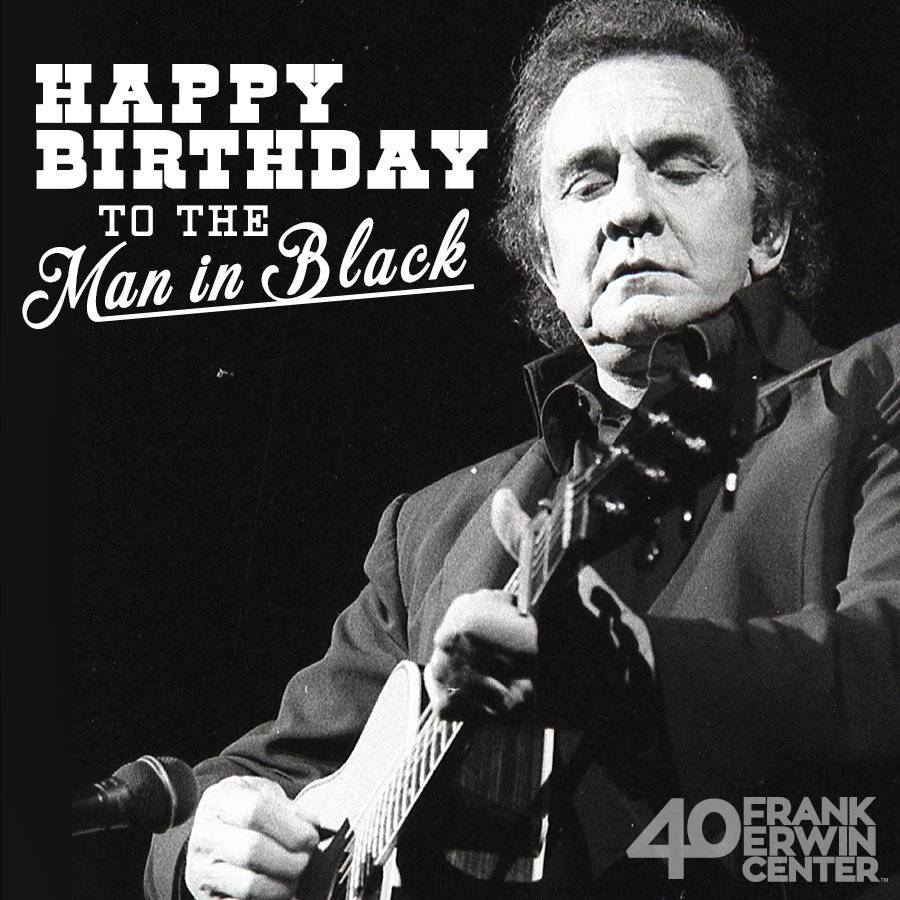 Frank Erwin Center On Twitter Happy Birthday Johnny Cash Remembering You Today Flashback To Cash S 1994 Appearance At The Frank Erwin Center Johnnycash Https T Co 31ugbrzock
