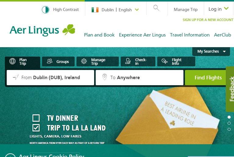 @AerLingus  AerLingus as Inspiring AngularJS Websites @  #inspiration #HTML